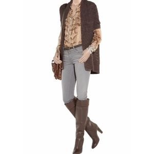 Duffy • Alpaca Wool Blend Chunky Knit Cardigan